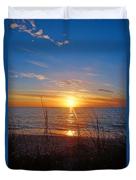 Southwest Florida Sunset Duvet Cover