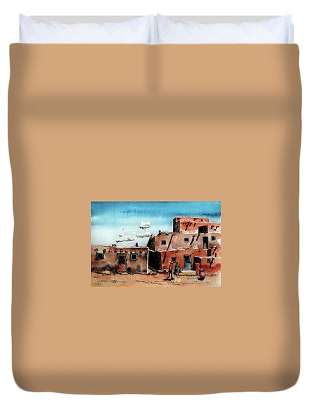 Southwest Homes Duvet Cover by Terry Banderas