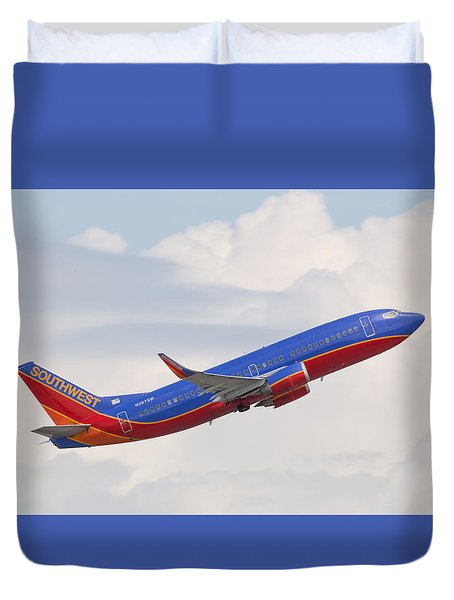 Southwest Jet Duvet Cover