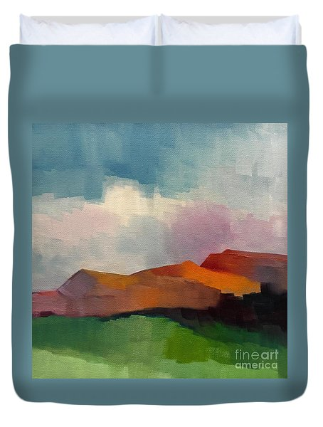 Southwest Light Duvet Cover