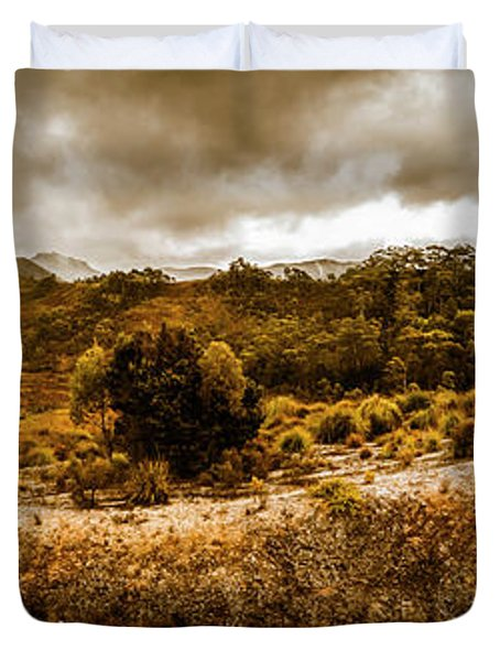 Southwest National Park Tasmania Duvet Cover
