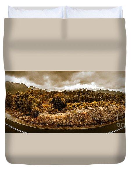 Southwest National Park Tasmania Duvet Cover