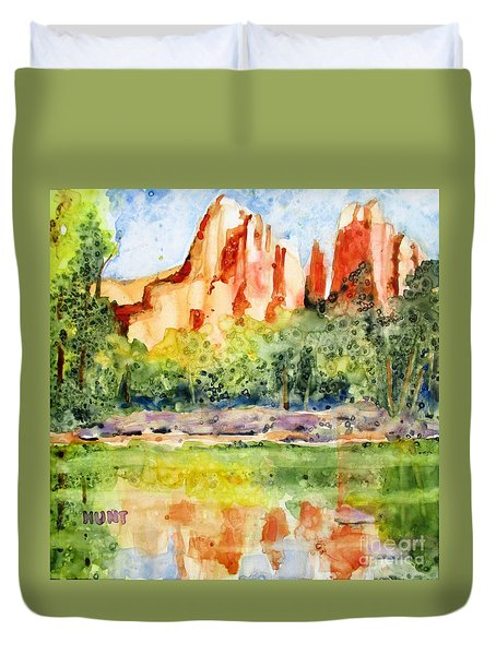 Southwest Reflections Duvet Cover