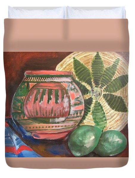 Southwest Still Life Duvet Cover