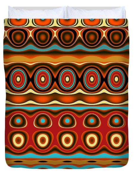 Southwestern Colors Pattern Duvet Cover