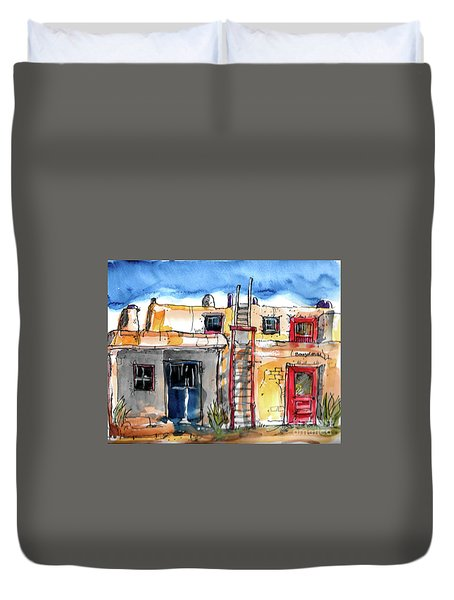 Southwestern Home Duvet Cover by Terry Banderas