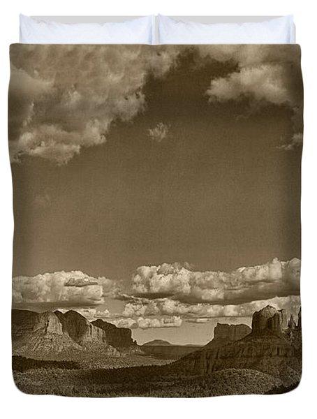 Southwestern Light Drama Tint Duvet Cover