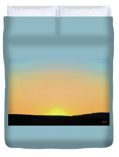 Southwestern Sunset Duvet Cover
