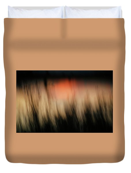 Duvet Cover featuring the photograph Southwestern Sunset by Marilyn Hunt