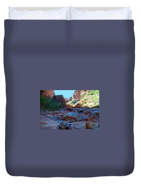 Sowats Creek Kanab Wilderness Grand Canyon National Park Duvet Cover