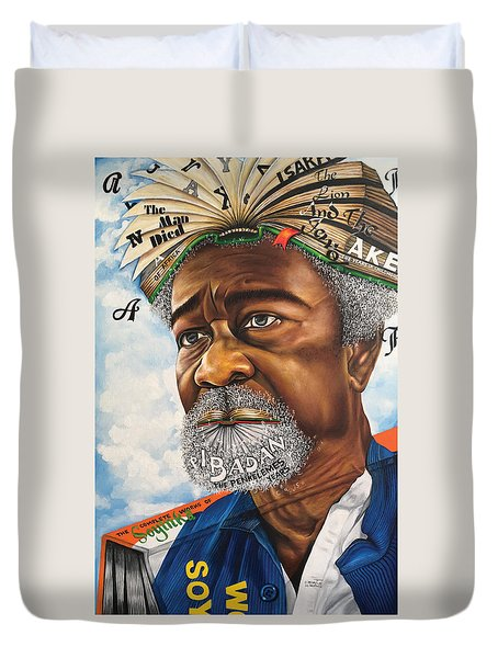 Soyinka An African Literary Icon Duvet Cover