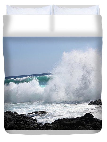 Sp-lash Duvet Cover by Karen Nicholson