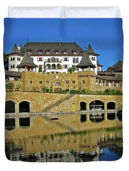 Spa Resort A-rosa - Kitzbuehel Duvet Cover by Juergen Weiss