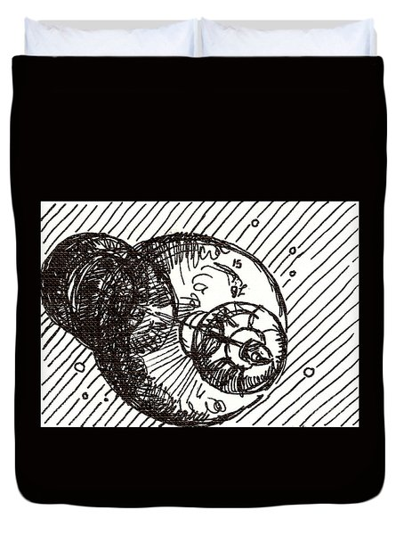 Space 1 2015 - Aceo Duvet Cover