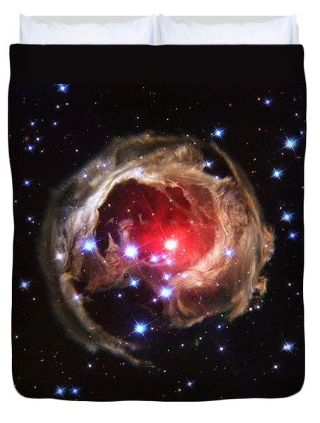 Space - 838 Duvet Cover by Paul W Faust -  Impressions of Light