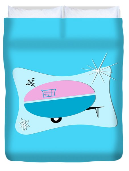 Space Age Camper Duvet Cover