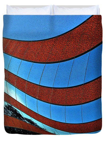 Space Geometry #8 Duvet Cover
