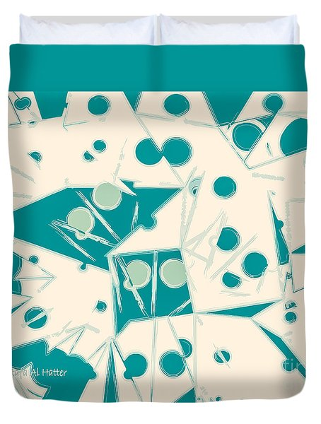 Space-time Duvet Cover