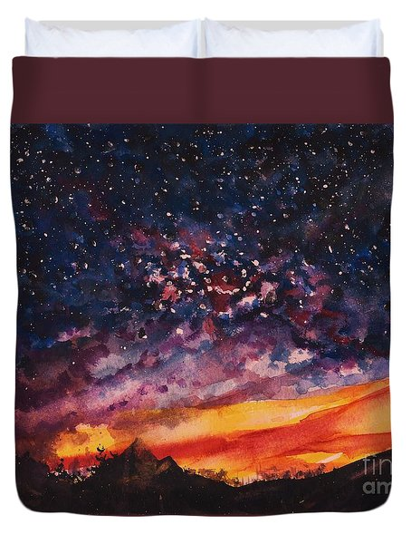 Space Oddity  Duvet Cover