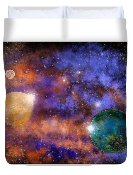 Space Practice Duvet Cover