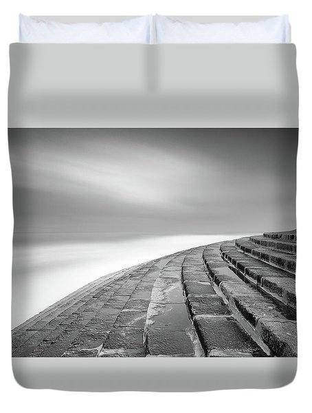 Duvet Cover featuring the photograph Space Ship  by Bruno Rosa
