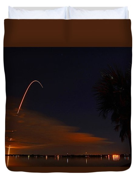 Space Station Bound Duvet Cover