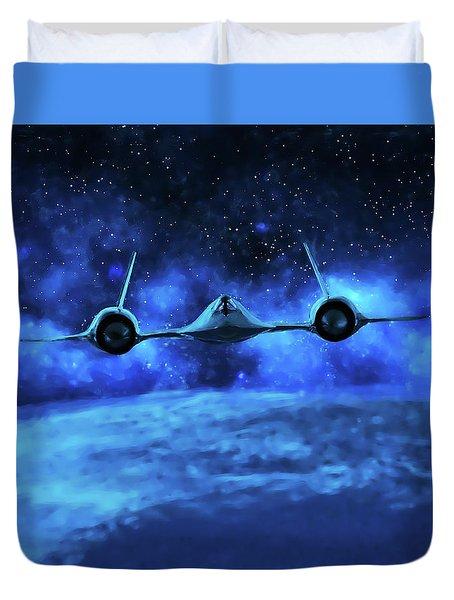 Spaceward Duvet Cover