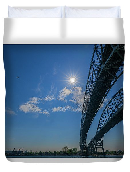 Spacious Skies Duvet Cover