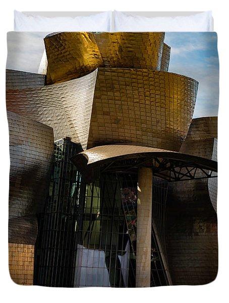The Guggenheim Museum Spain Bilbao  Duvet Cover