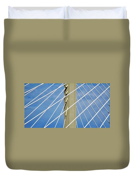 Span Duvet Cover by Martin Cline