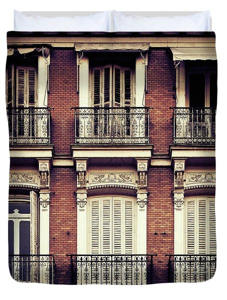 Spanish Balconies Duvet Cover
