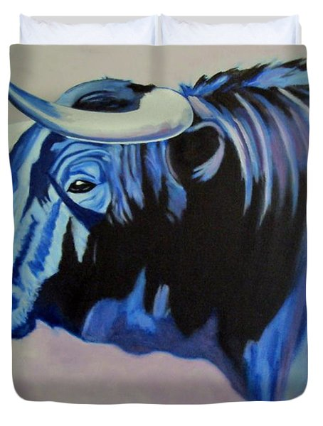Spanish Bull Duvet Cover