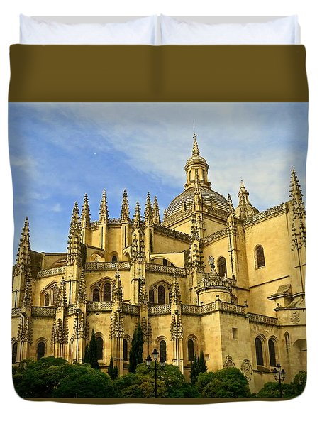 Spanish Cathedral Duvet Cover