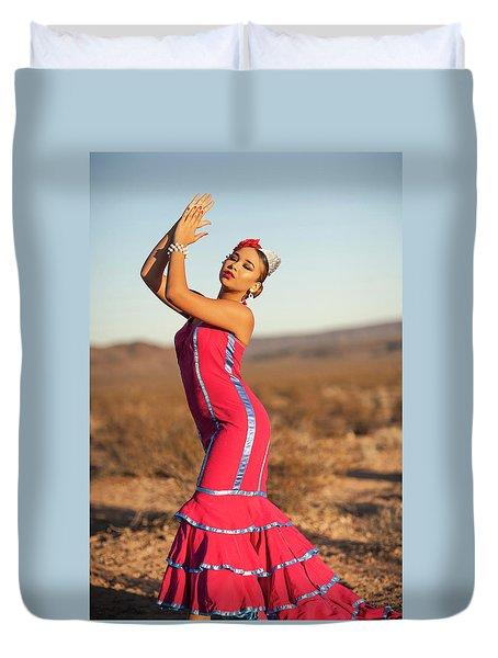 Spanish Dancer Duvet Cover