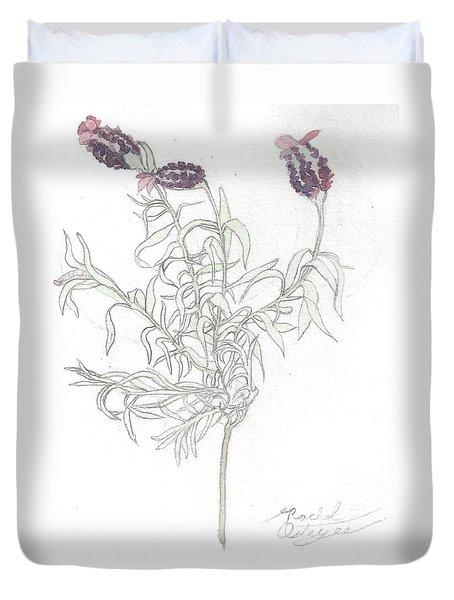 Spanish Lavender Duvet Cover