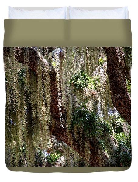 Spanish Moss Cascade Duvet Cover