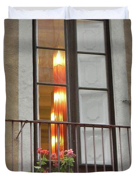 Spanish Siesta Duvet Cover