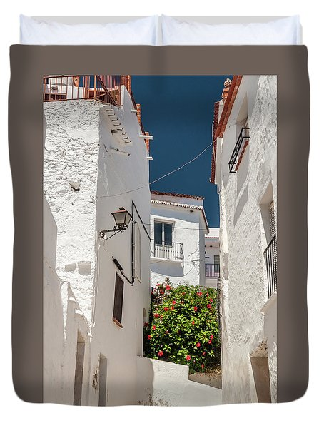 Spanish Street 2 Duvet Cover