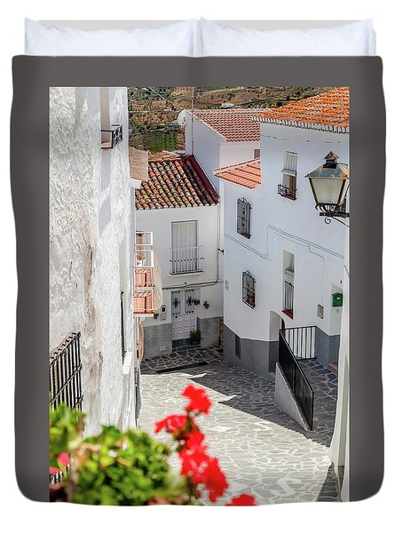 Spanish Street 3 Duvet Cover
