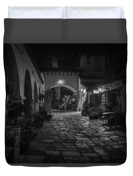 Spanish Village Duvet Cover
