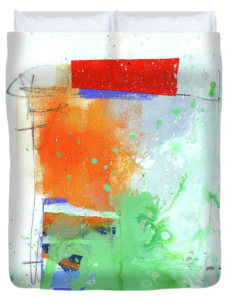 Spare Parts#3 Duvet Cover by Jane Davies