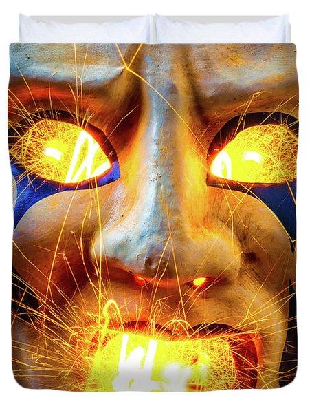 Sparking Mask Duvet Cover