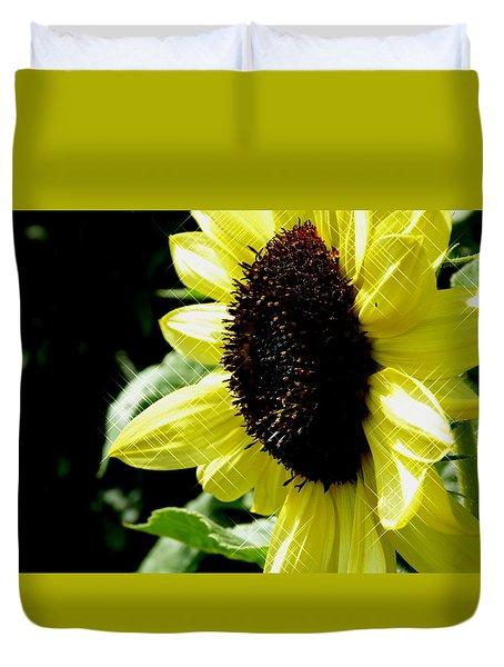 Sparkle Sunflower Duvet Cover