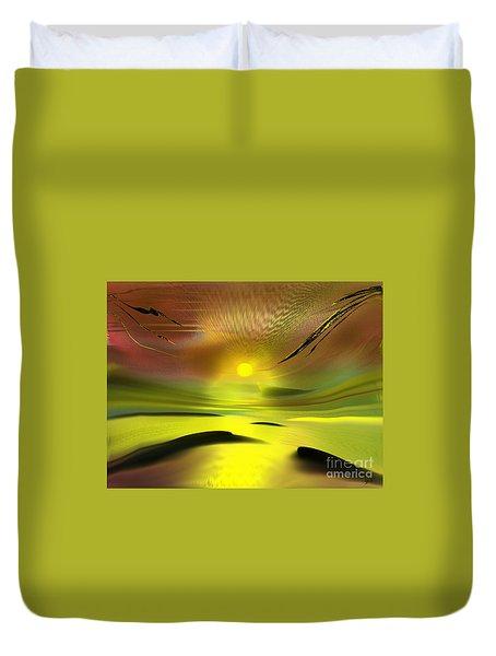 Sparkling In The Sand Duvet Cover