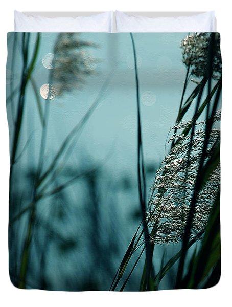 Sparkling Lights Duvet Cover by Susanne Van Hulst