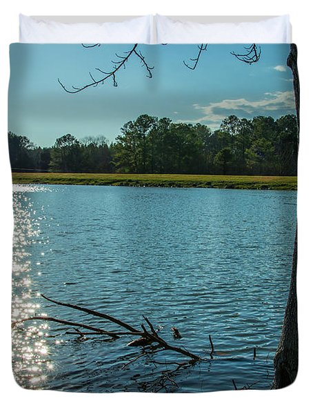 Sparkling Water Duvet Cover