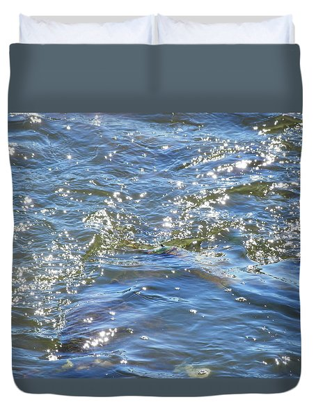 Sparkling Waters Duvet Cover