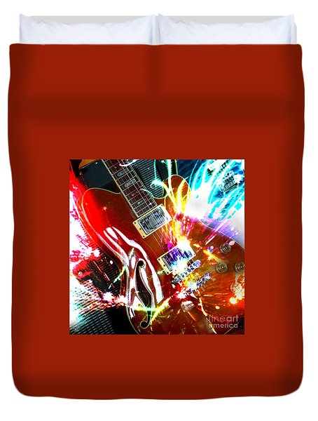 Sparks Fly Duvet Cover by LemonArt Photography