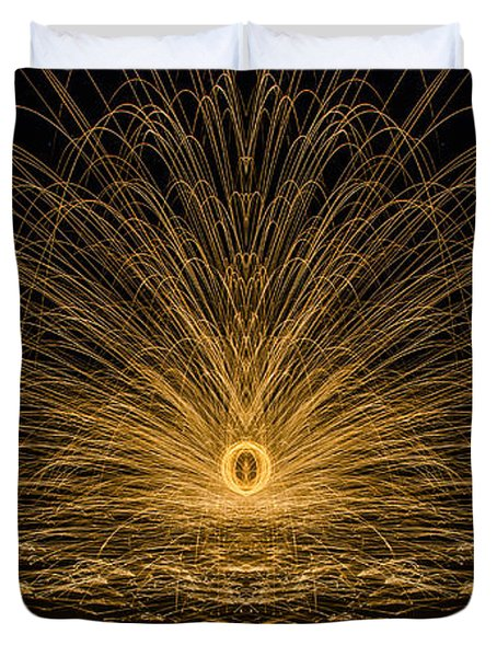 Sparks Reflection Duvet Cover