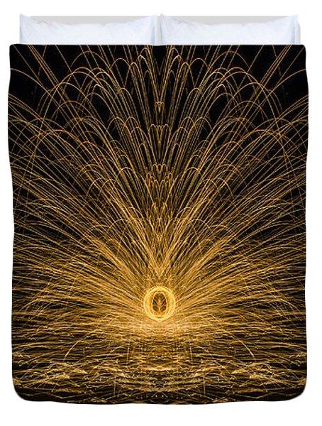 Sparks Reflection Duvet Cover